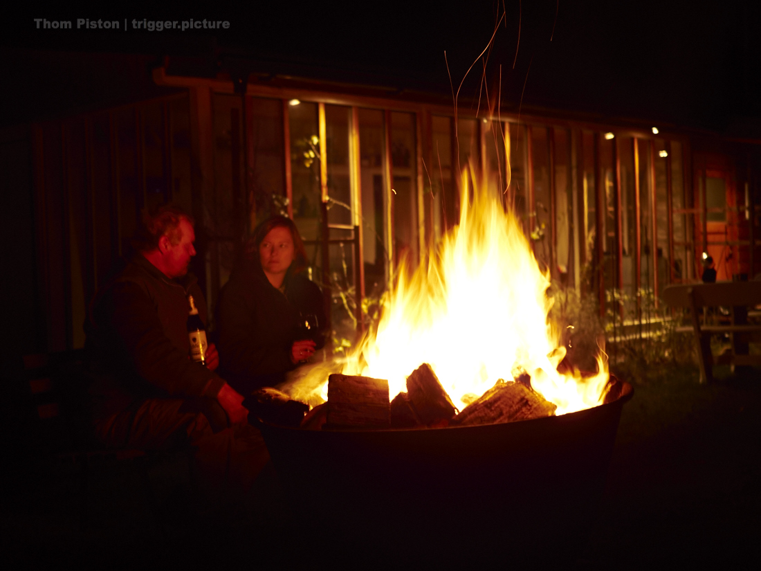 die besten lagerfeuer gibts im dakota home
