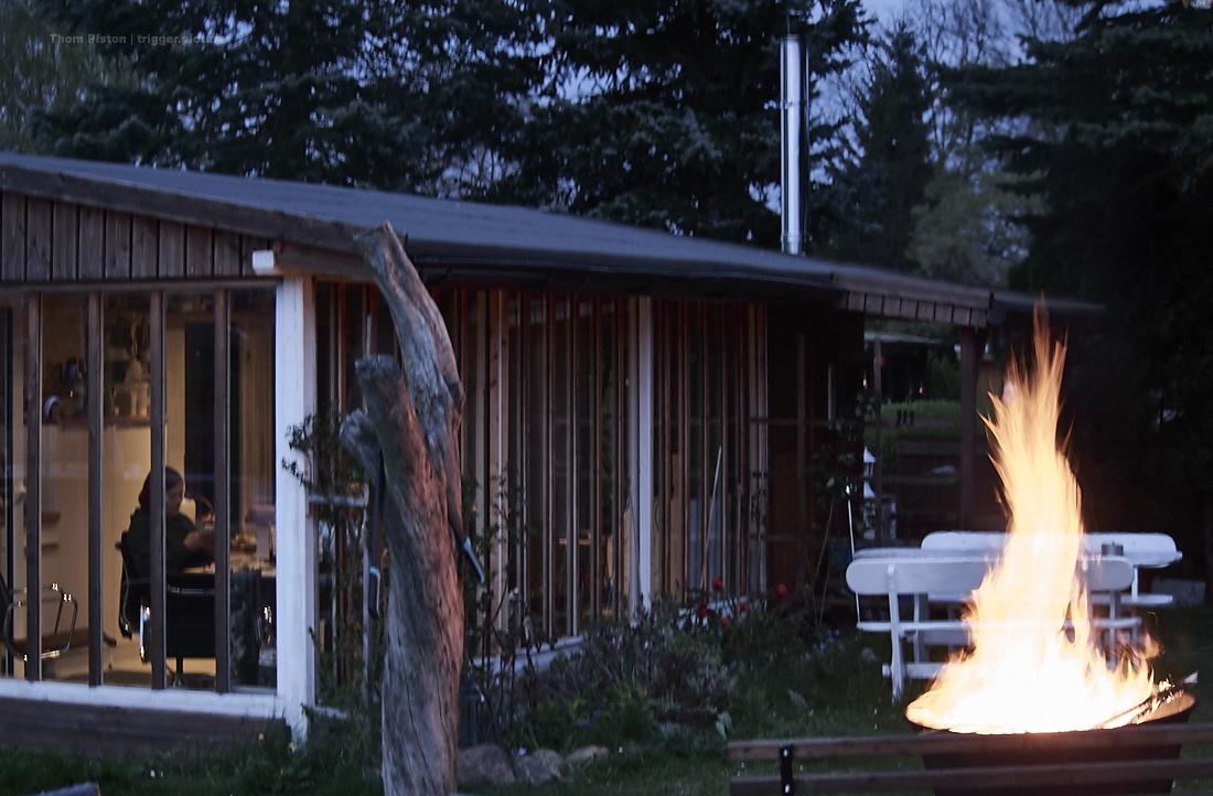 osterfeuer im dakota home