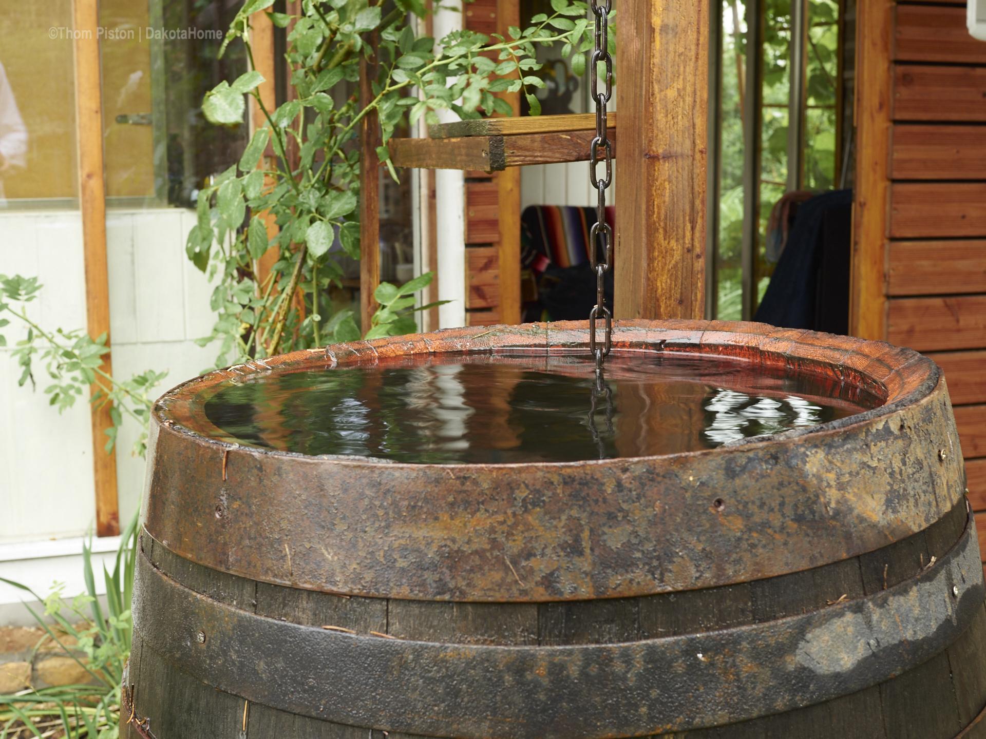 Wassertonne am dakota home