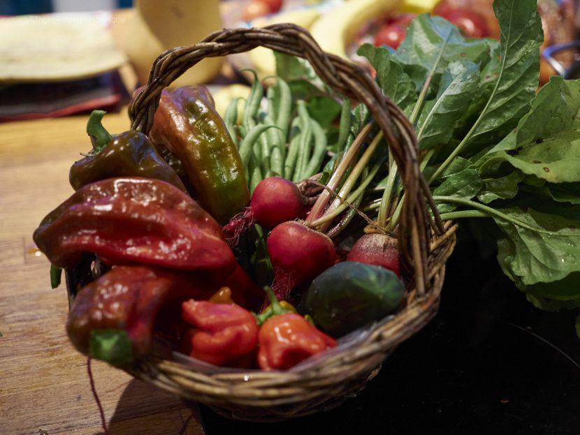 paprika, rote beete und chili