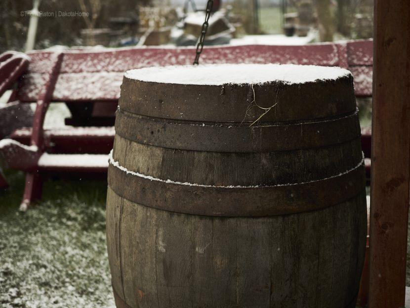 winter at dakota home