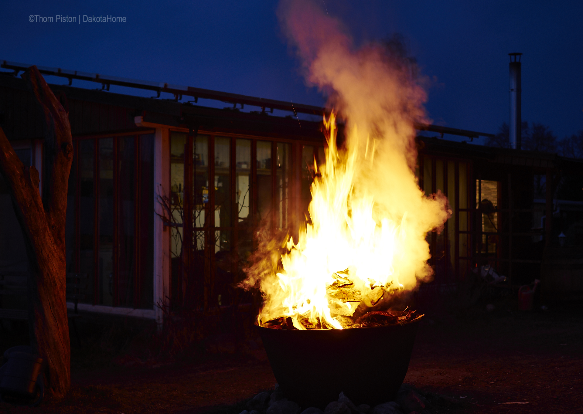 Feuertonne at dakota Home