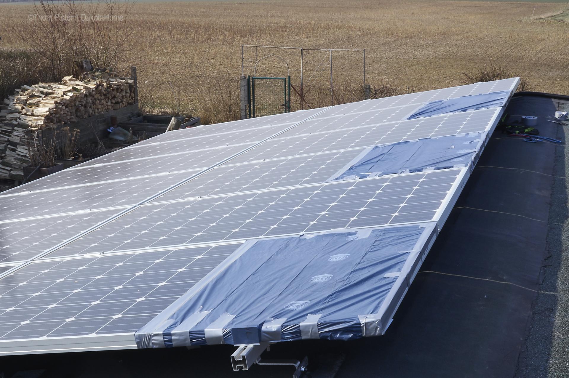 solarnlage dakota hme vor überspannung schützen..