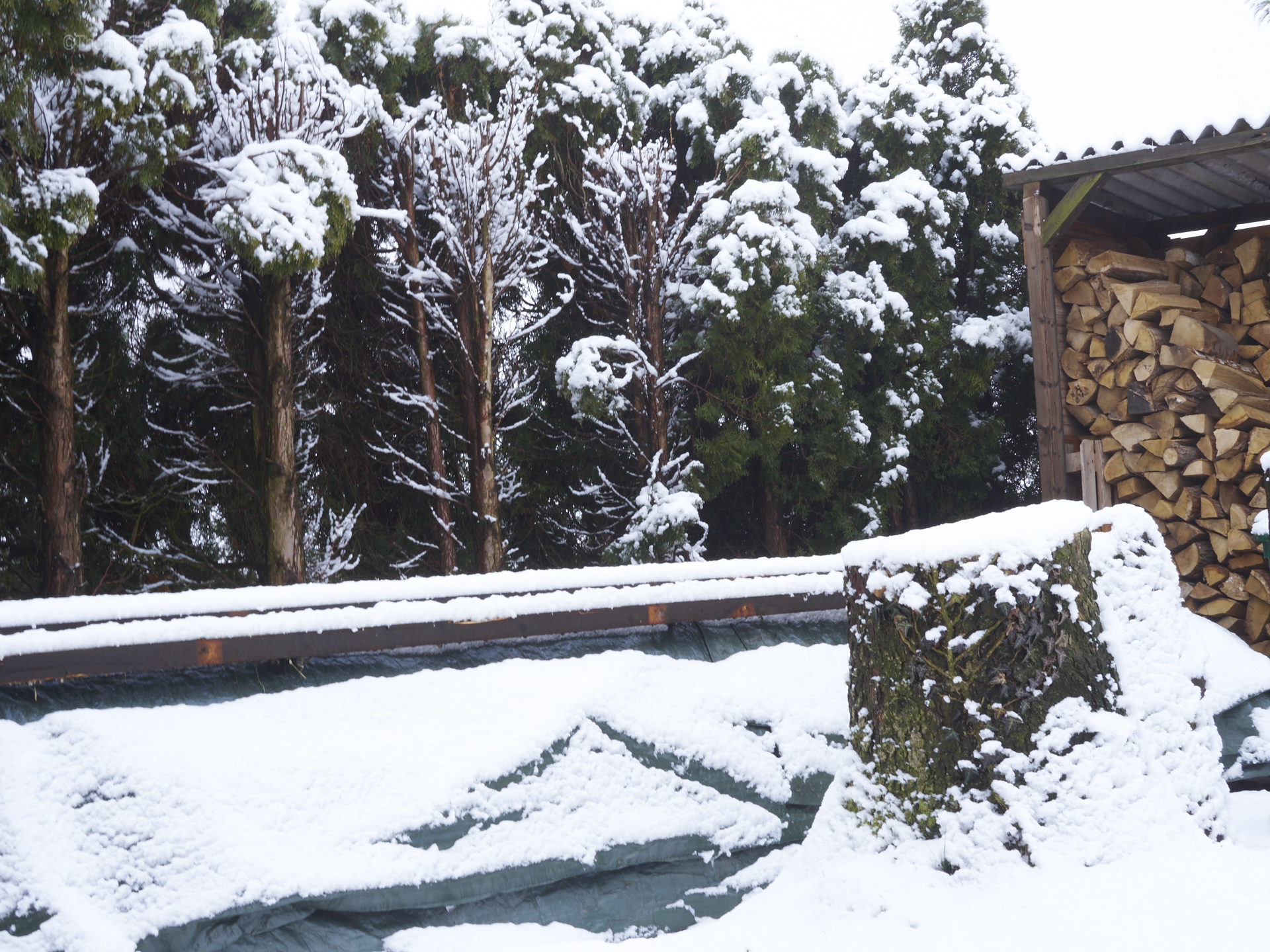 Wintereinbruch anfang Mearz 2018 Dakota Home