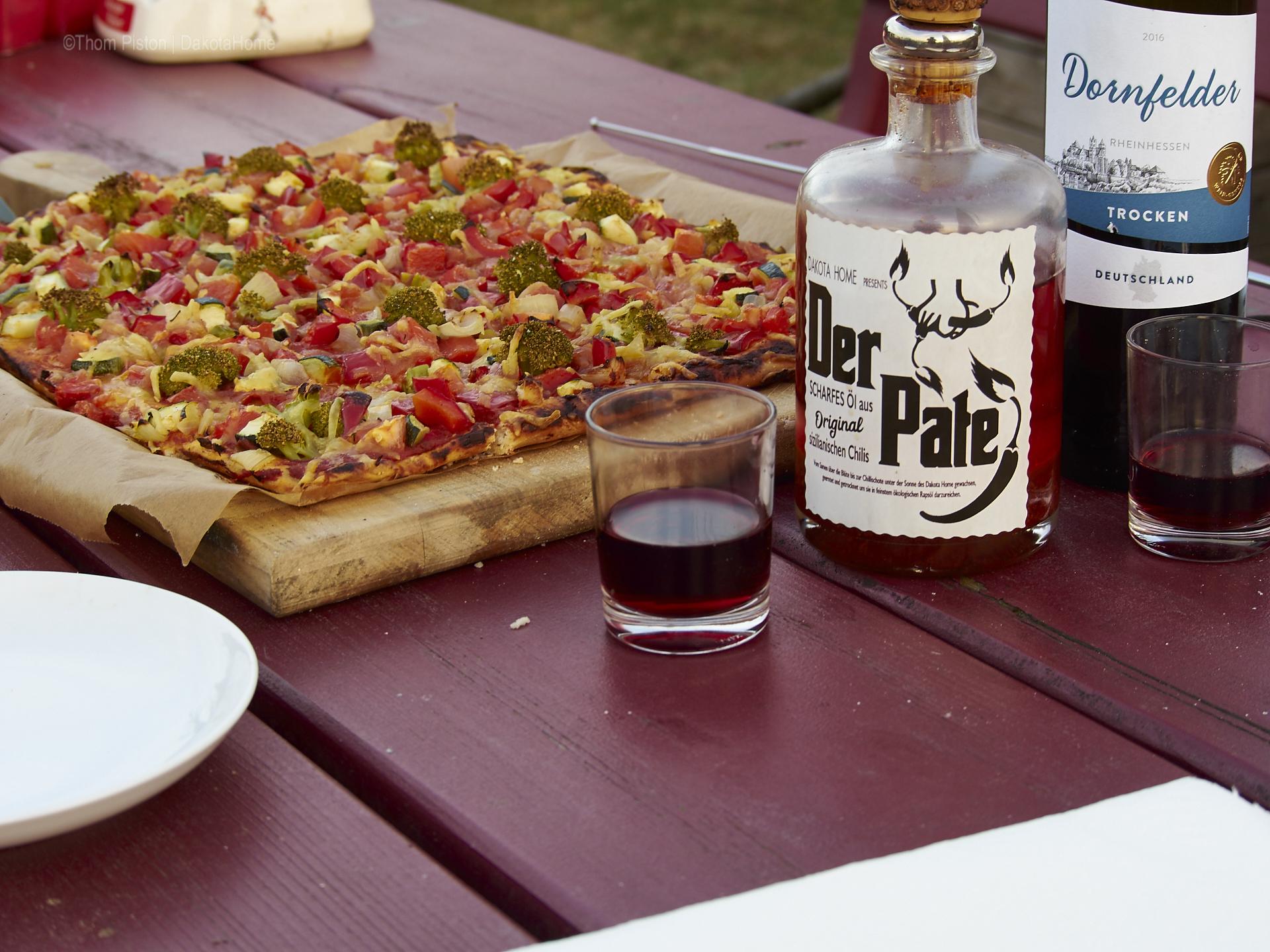 Pizza at Dakota Home