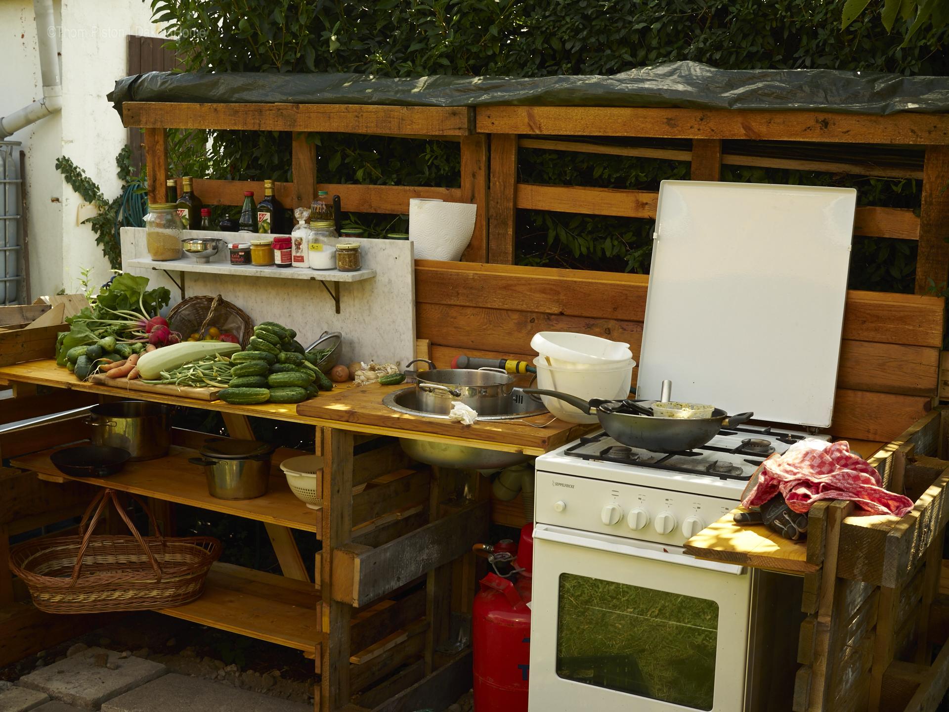 Außenküche Mit Paletten : Projekt: aussenküche dakota home