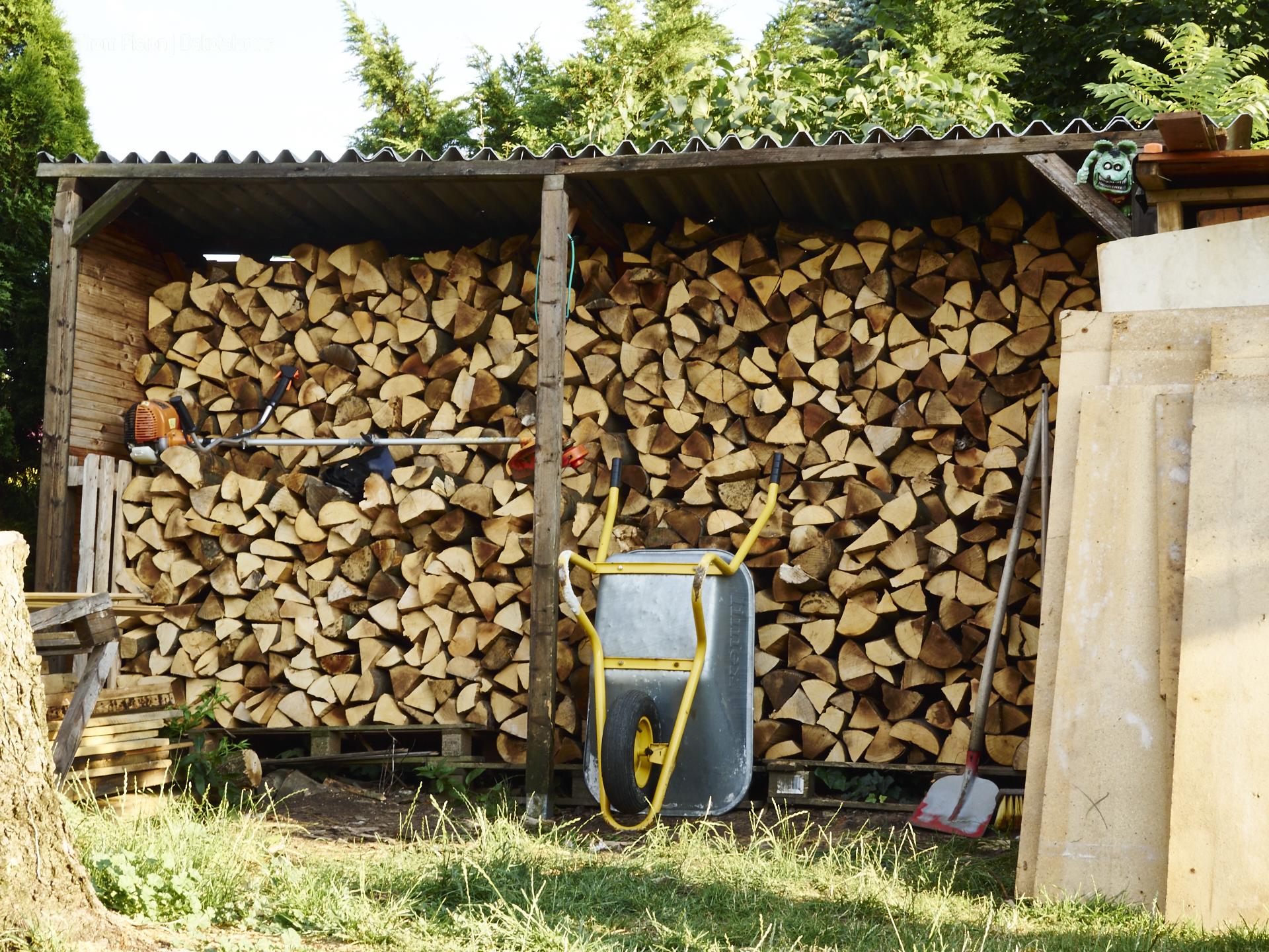 voller Holzschuppen fetzt!