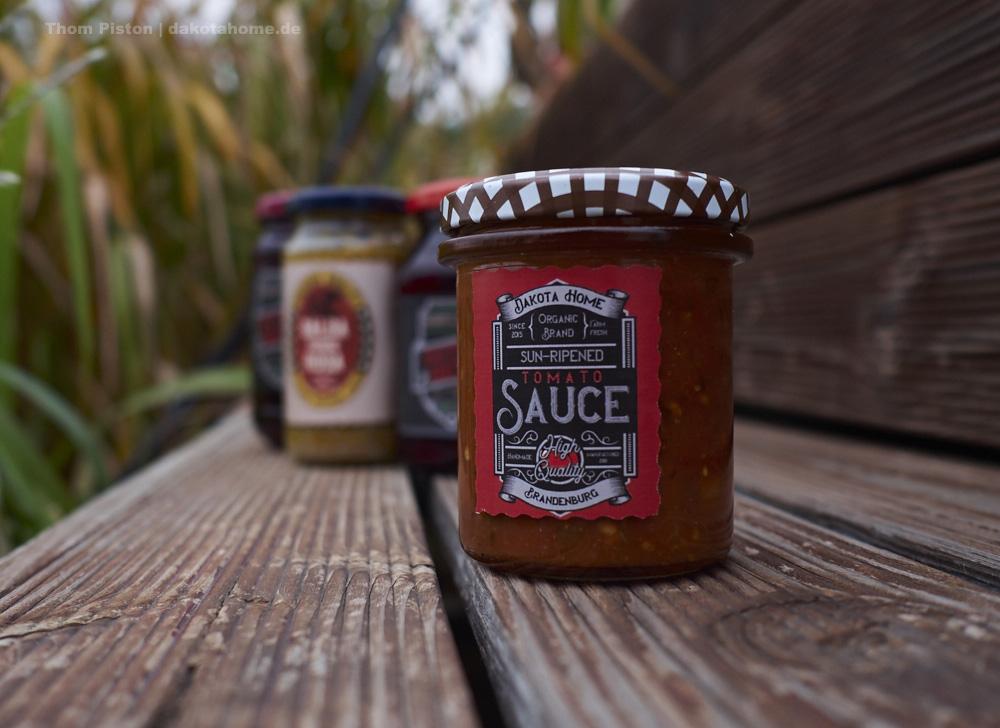 der Photoshop und ich :) Label Entwurf für unsere Tomatensosse